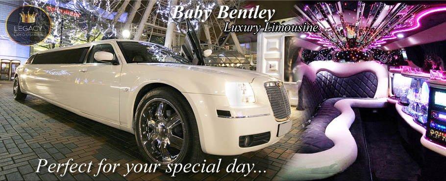 Baby Bentley Limo Hire